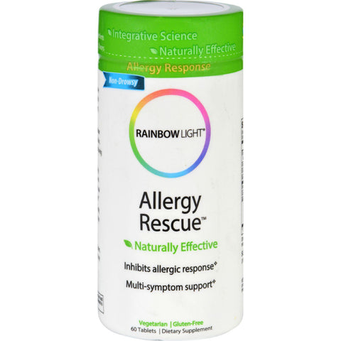 Rainbow Light Allergy Rescue - 60 Tablets