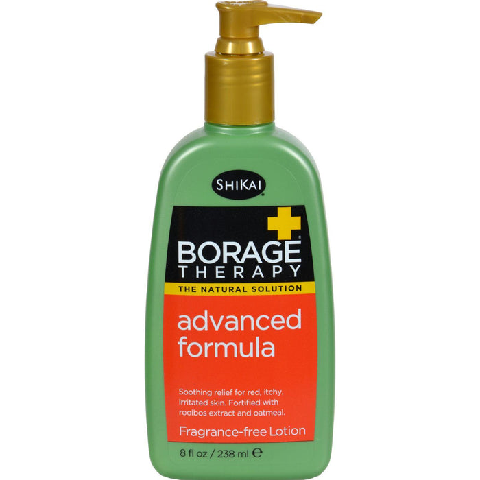 Shikai Borage Therapy Advanced Formula Fragrance Free - 8 Fl