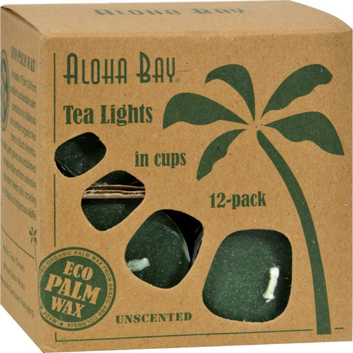 Aloha Bay - Tea Light - Green - 12-.7 Oz