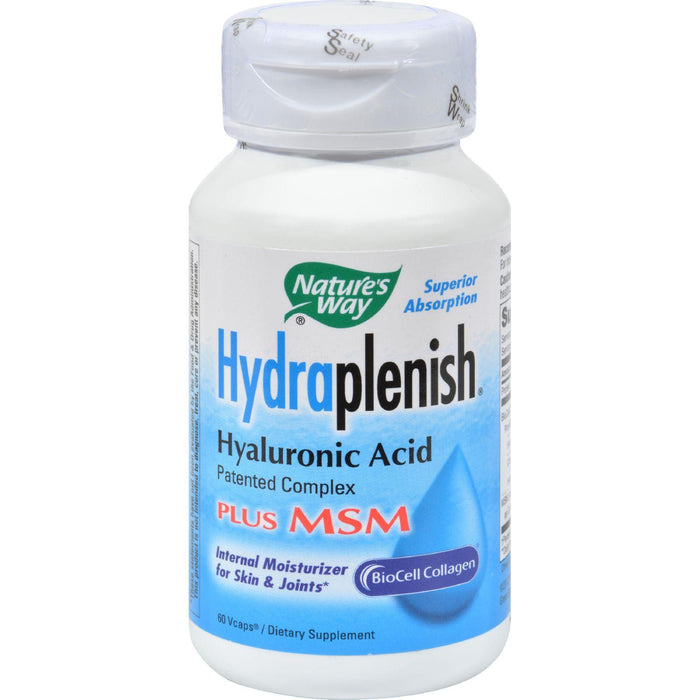 Nature's Way - Hydraplenish Plus Msm - 60 Capsules