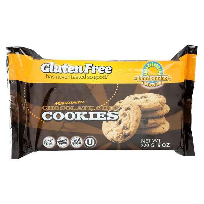 Kinnikinnick Cookies - Chocolate Chip - Case Of 6 - 8 Oz.