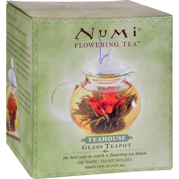 "Numi Teas Glass Teapot ""teahouse"" 14 Oz - 1 Teapot"