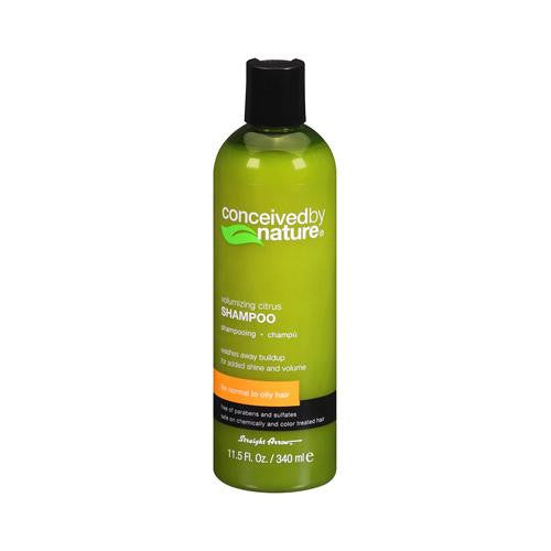 Conceived By Nature Shampoo - Citrus - 11.5 Oz - evoxMarket