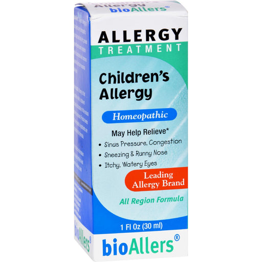 Bio-allers - Children's Allergy Treatment - 1 Fl Oz