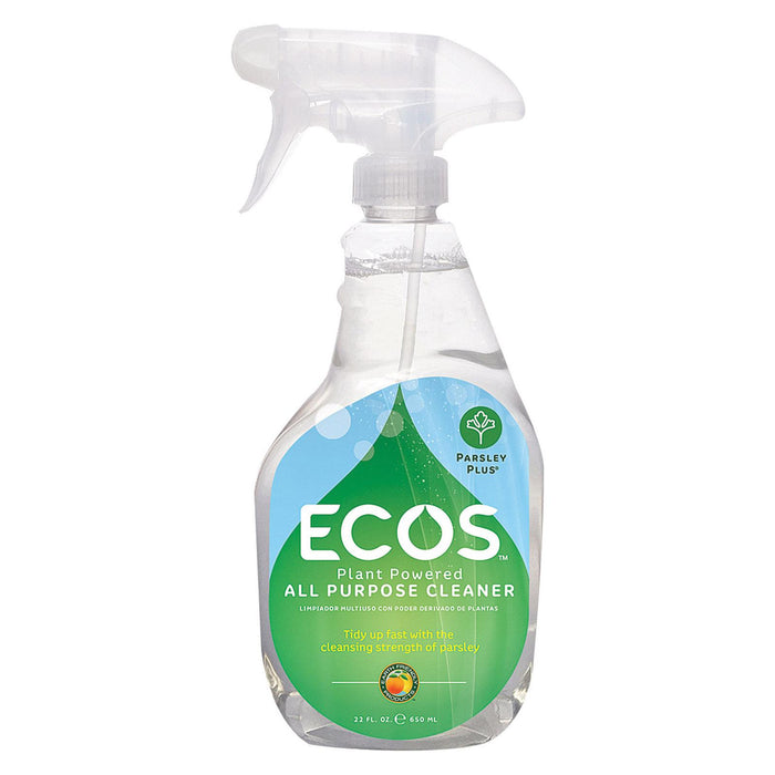 Earth Friendly Parsley Plus All Purpose Cleaner - Case Of 6 - 22 Fl Oz.
