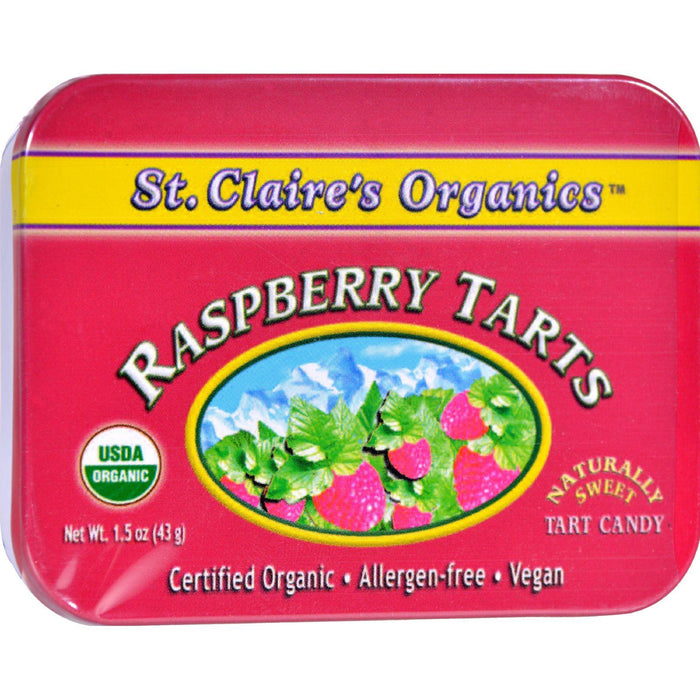 St Claire's Organic Raspberry Display Case - Case Of 6 - 1.5