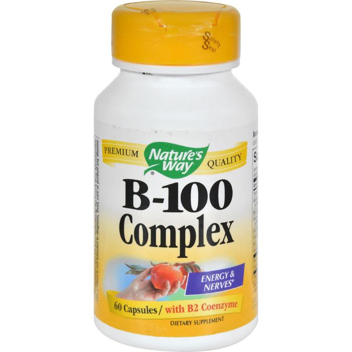 Nature's Way - Vitamin B-100 Complex - 60 Capsules
