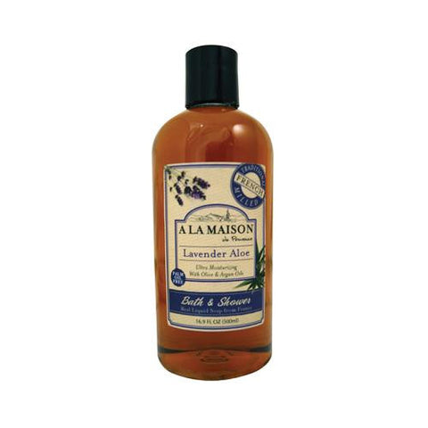 A La Maison Shower Gel - Lavender Aloe - 16.9 Oz