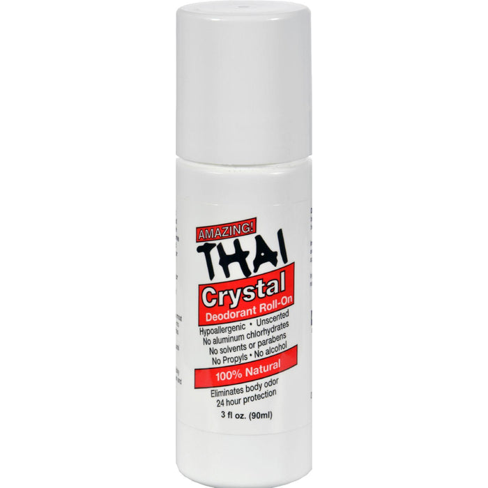 Thai Deodorant Stone Thai Crystal Deodorant Mist Roll-on - 3