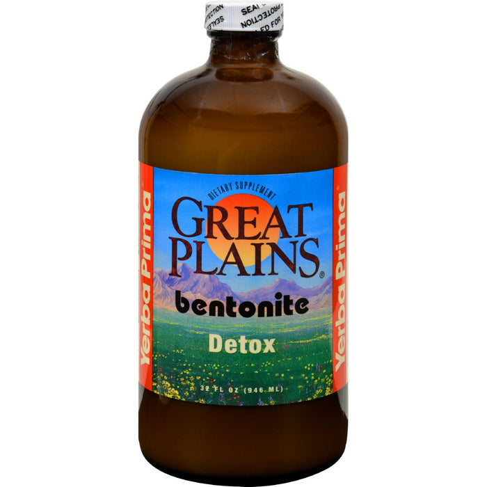 Yerba Prima Great Plains Bentonite Detox - 32 Fl Oz