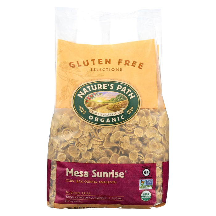 Nature's Path Organic Mesa Sunrise Flakes Cereal - Case Of 6
