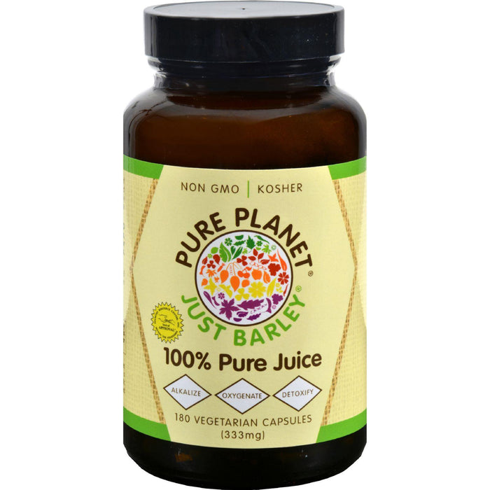 Pure Planet Just Barley - 180 Vegetarian Capsules