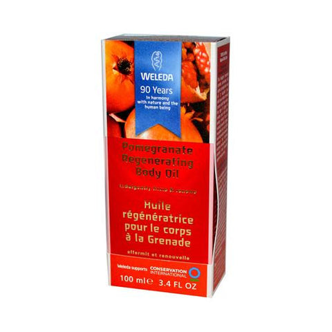 Weleda Regenerating Body Oil Pomegranate - 3.4 Fl Oz