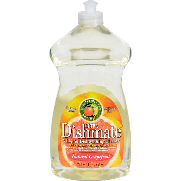 Earth Friendly Dishmate - Grapefruit - 25 Oz - Case Of 6