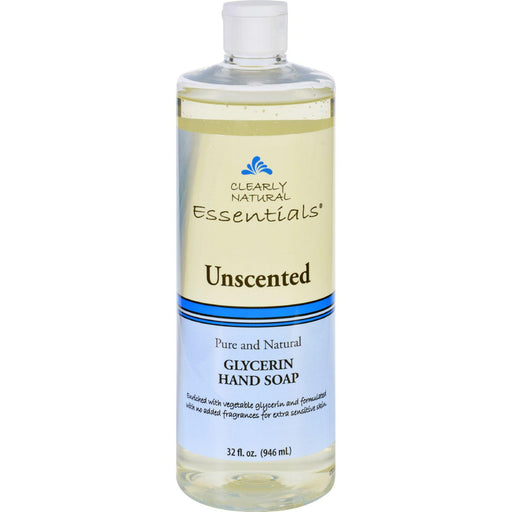 Clearly Natural Hand Soap - Liquid - Unscented - Refill - 32