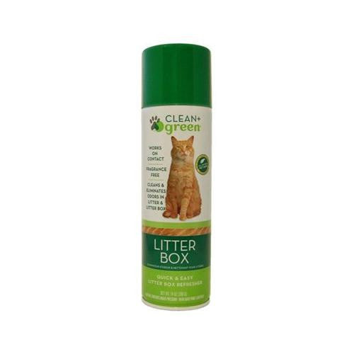 Clean And Green Pet Stain And Odor Remover For Litter Box - 14 Oz - evoxMarket