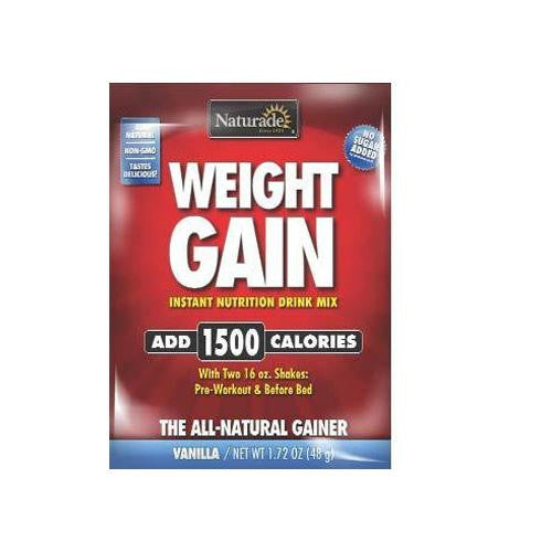 Naturade Weight Gain Packet - Case Of 25 - 1.72 Oz - evoxMarket