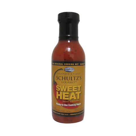 Schultz's Gourmet Hot Sauce - Sweet Heat - Case Of 6 - 14 Oz.