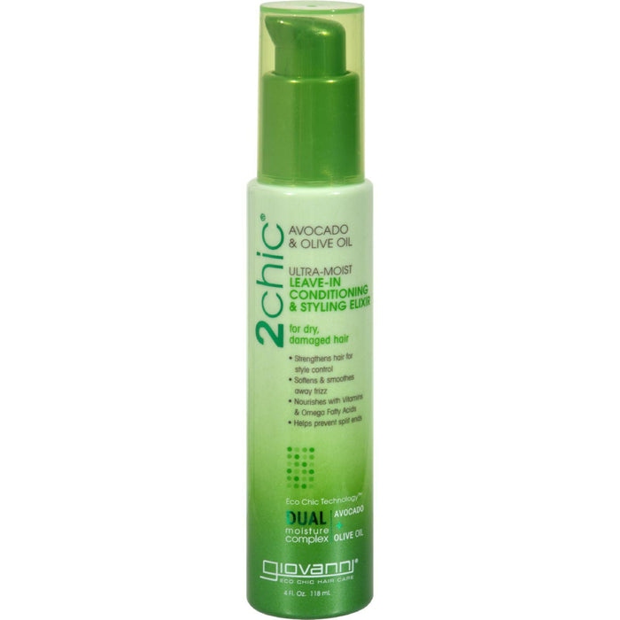 Giovanni Hair Care Products Leave In Conditioner - 2chic
