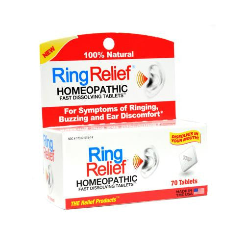Trp Ring Relief - 70 Fast Dissolving Tablets - evoxMarket