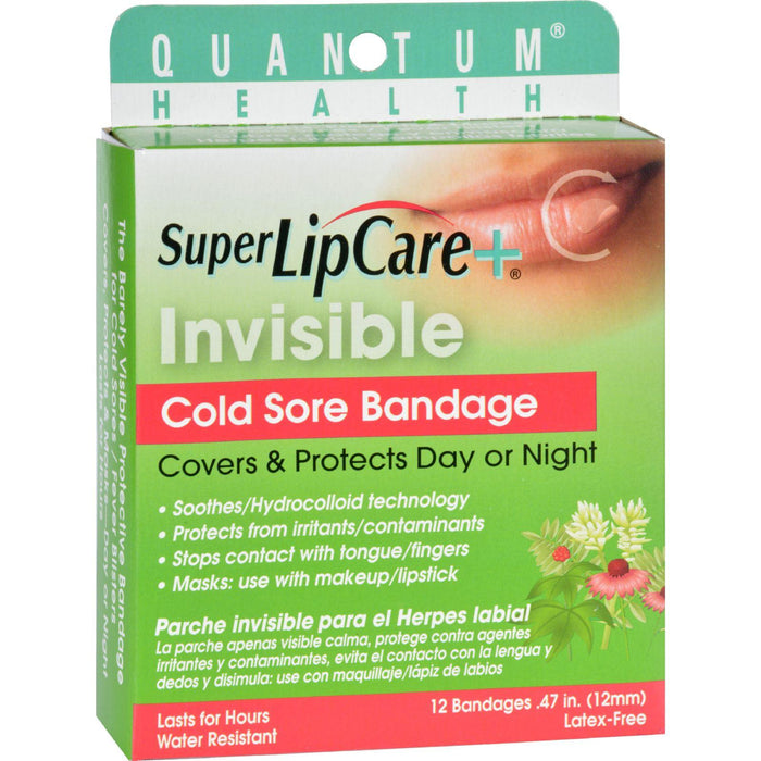 Quantum Research Lipcare Plus Invisible Cold Sore Bandage -