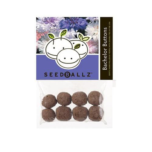 Seedballz Bachelors Button - 8 Pack - evoxMarket