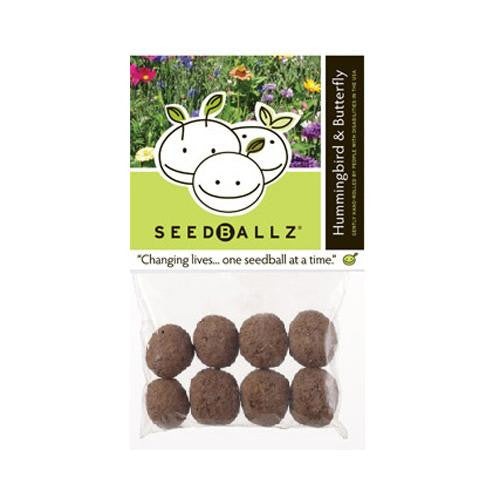 Seedballz Hummingbird-butterfly - 8 Pack - evoxMarket