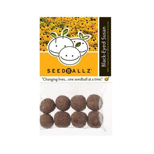 Seedballz Black-eyed Susan - 8 Pack - evoxMarket
