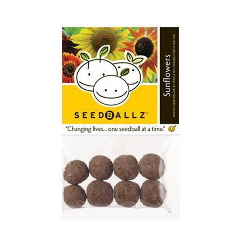 Seedballz Sunflower - 8 Pack - evoxMarket