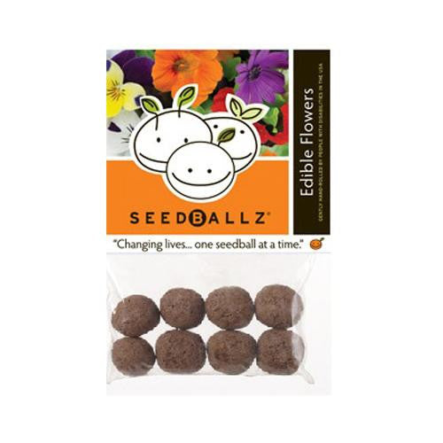 Seedballz Edible Flowers - 8 Pack - evoxMarket