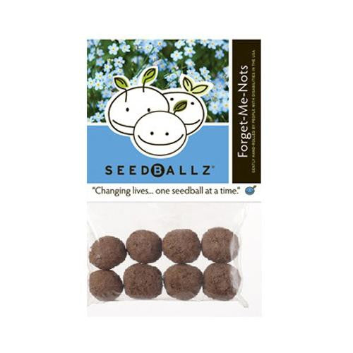 Seedballz Forget Me Not - 8 Pack - evoxMarket