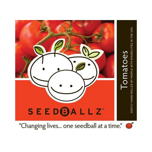 Seedballz Tomatoes - 8 Pack - evoxMarket