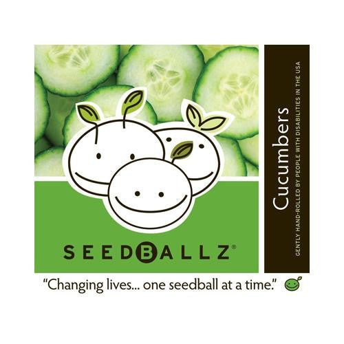Seedballz Cucumber - 8 Pack - evoxMarket