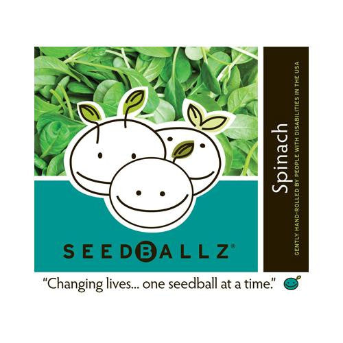Seedballz Spinach - 8 Pack - evoxMarket
