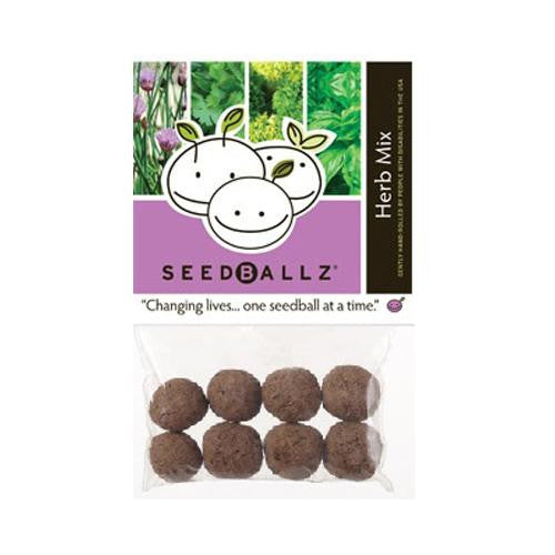 Seedballz Herb Mix - 8 Pack - evoxMarket
