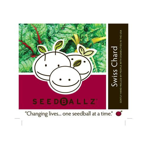 Seedballz Swiss Chard - 8 Pack - evoxMarket