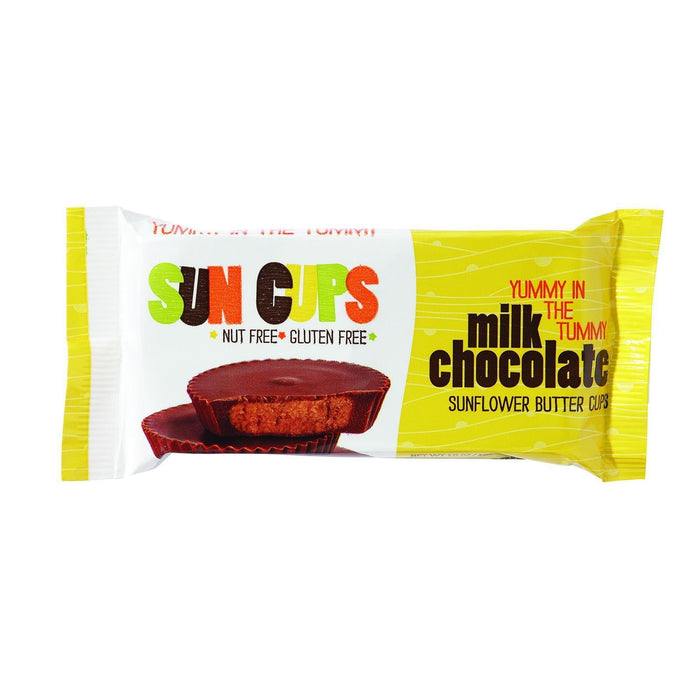 Suncup Sunflower Butter Cups - Milk Chocolate - 1.5 Oz - Case Of 12