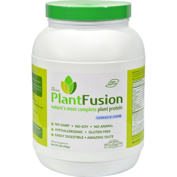 Plantfusion - Complete Protein - Cookies N' Cream - 2 Lbs.
