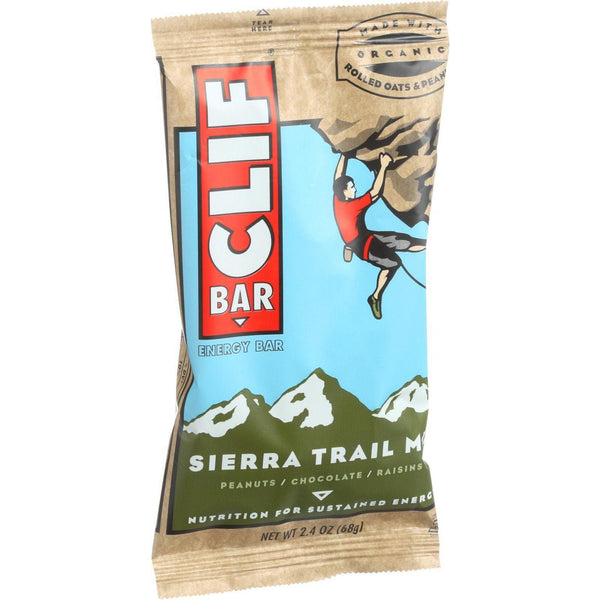 Clif Bar Organic Energy Bar - Sierra Trail Mix - Case Of 12 - 2.4 Oz Bars