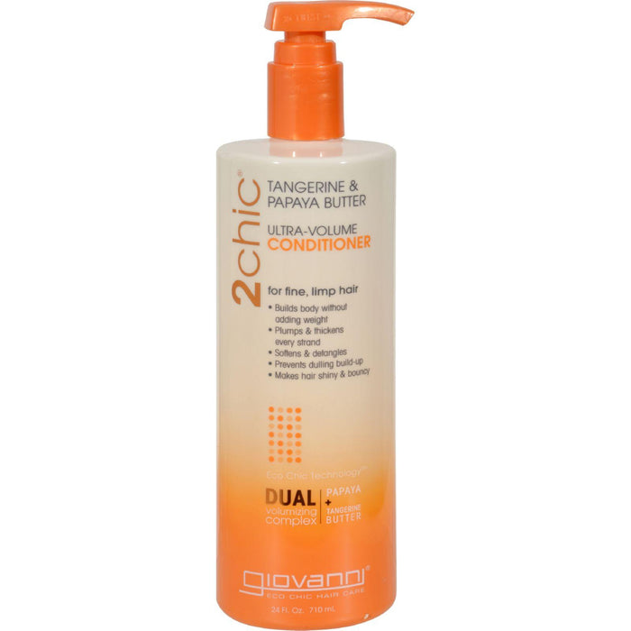 Giovanni Hair Care Products 2chic Conditioner - Ultra-volume