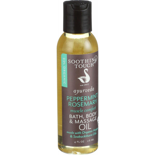 Soothing Touch Bath Body And Massage Oil - Organic -
