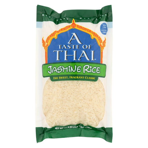 Taste Of Thai Rice Jasmine - Case Of 6 - 17.6 Oz