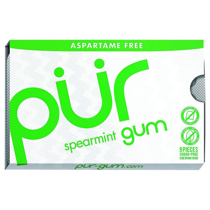 Pur Gum - Spearmint - Aspartame Free - 9 Pieces - 12.6 G -