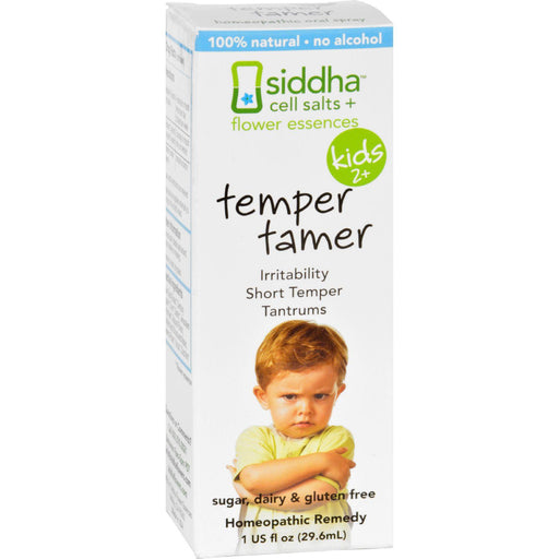 Siddha Flower Essences Temper Tamer - Kids - Age Two Plus -