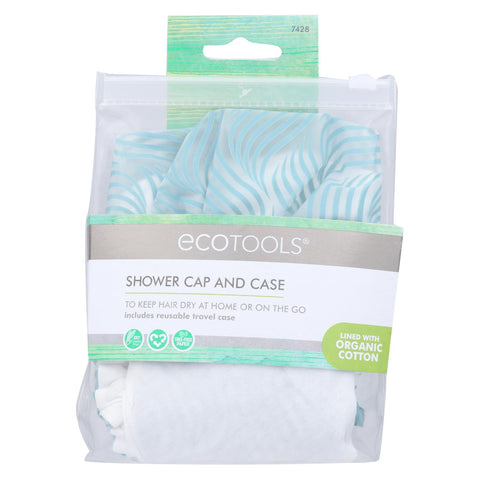 Eco Tools Shower Cap - Case Of 4 - 1 Count