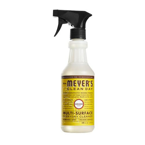 Mrs. Meyer's Multi Surface Spray Cleaner - Sunflower - 16 Fl Oz - Case Of 6 - evoxMarket