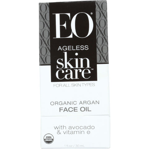 Eo Products Argan Face Oil - Organic - Ageless - 1 Oz