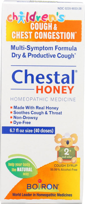 Boiron - Chestal - Cough And Chest Congestion - Honey -