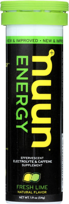 Nuun Hydration Drink Tab - Energy - Lemon-lime - 10 Tablets