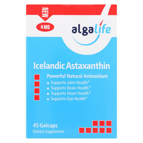 Algalife Usa Icelandic Astaxanthin 4mg - 45 Count